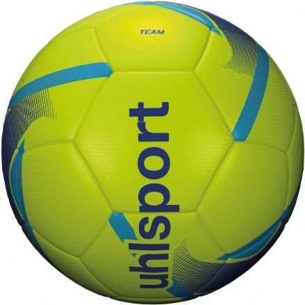 Uhlsport  Team Fluo Yellow / Blue / Cyan  Size 4 Training Ball